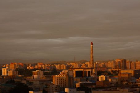 The Tower of Juche Idea, Pyongyang (Photo by Vincent Yu, AP)