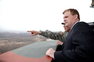 Baird visits Demilitarized Zone between North and South Korea