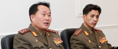 Officials of the DPRK NDC (Photo by AP)