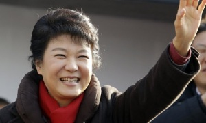 Park Geun-Hye (Photo by Associated Press)