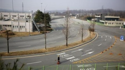 The nearly deserted Kaesong Industrial Complex (Photo by Arirang News)
