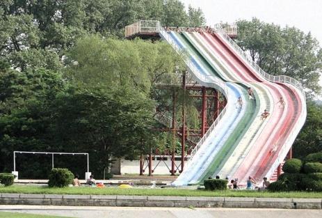 Songdowon water slide (Photo by David Flack)
