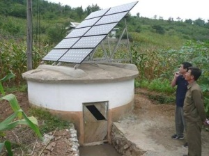 Solar well (Photo by Dan Folta)