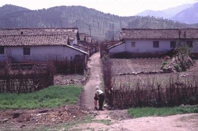 DPRK farming village (Photo by Erich Weingartner)
