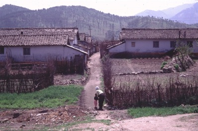 DPRK farming village (Photo by Erich Weingartner)